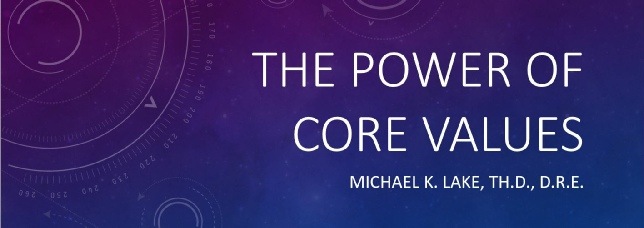 The Power of Core Values