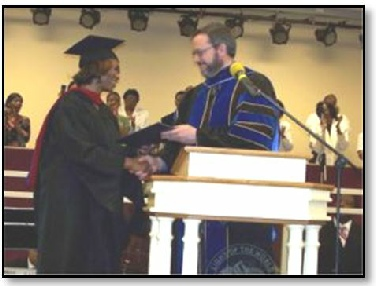 Graduation for Biblical Life Student